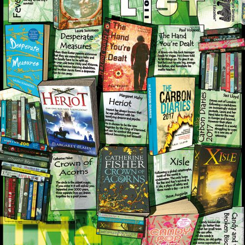 Thumbnail for the post titled: A poster of book covers