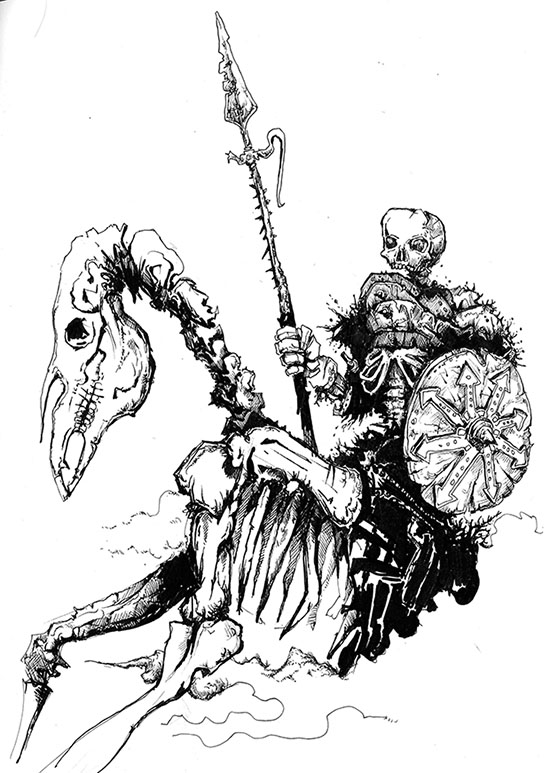 skeleton rider for web