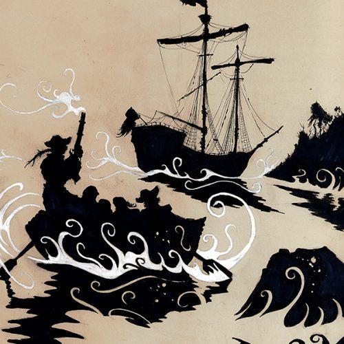 Thumbnail for the post titled: Abandoning the Hispaniola