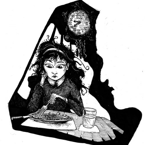 Thumbnail for the post titled: Morrigan and the plate of parsnips