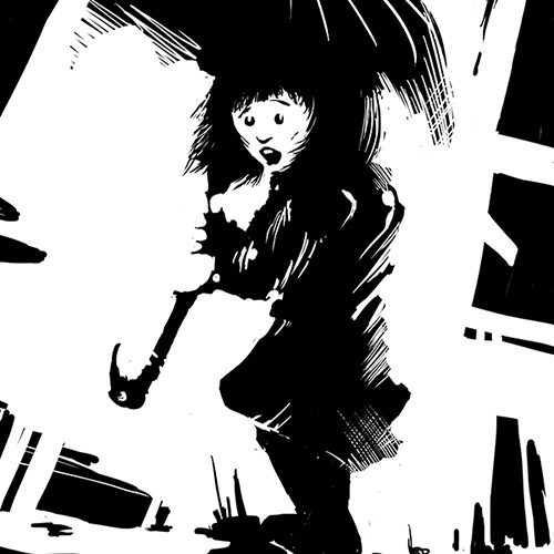 Thumbnail for the post titled: Morrigan Crow (and brolly)