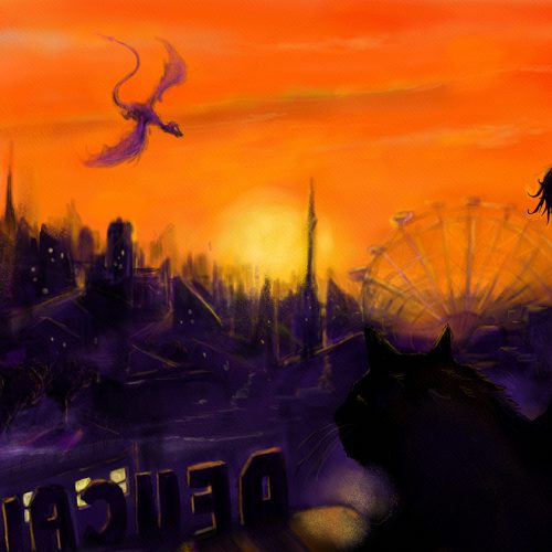 Thumbnail for the post titled: Sunrise over Nevermoor