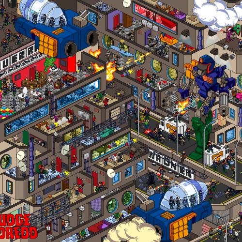 Thumbnail for the post titled: Mini Mega City One