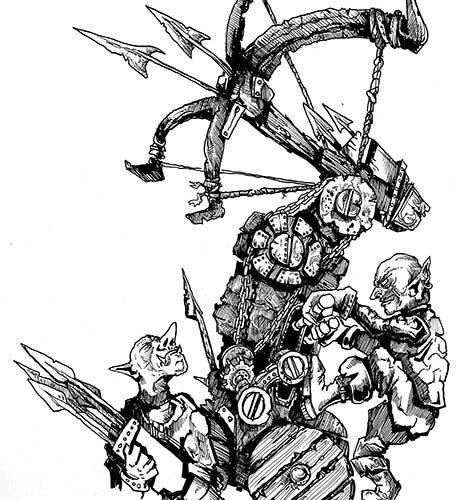 Thumbnail for the post titled: Goblin Ballista