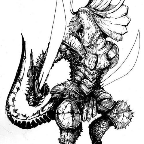 Thumbnail for the post titled: Lizardman