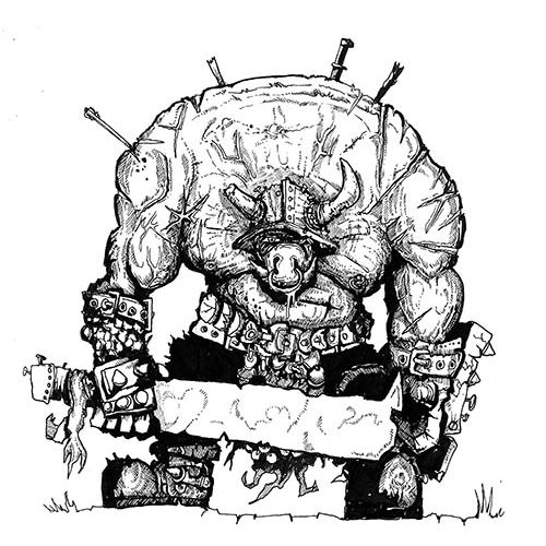Thumbnail for the post titled: Orc chief