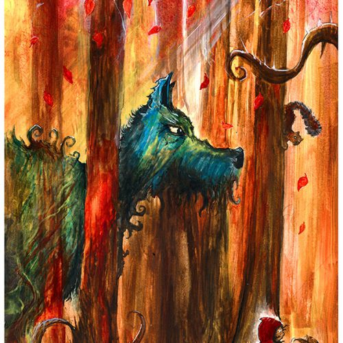 Thumbnail for the post titled: Little Red and the wolf