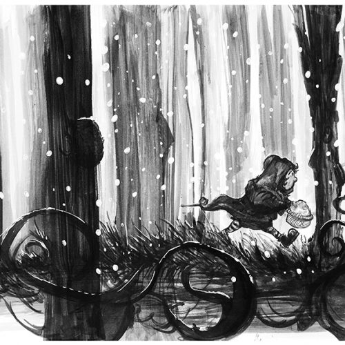 Thumbnail for the post titled: Red Riding Hood Revisited