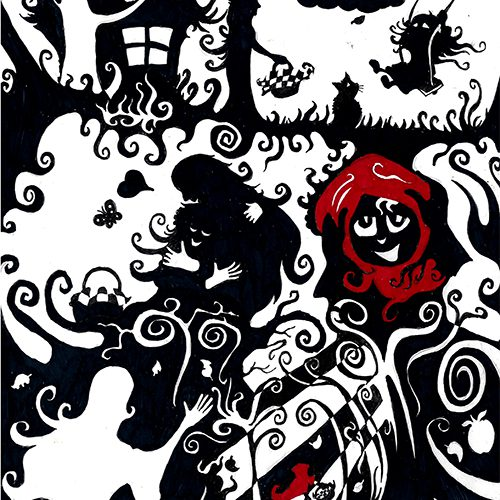 Thumbnail for the post titled: Red Riding Hood sets out
